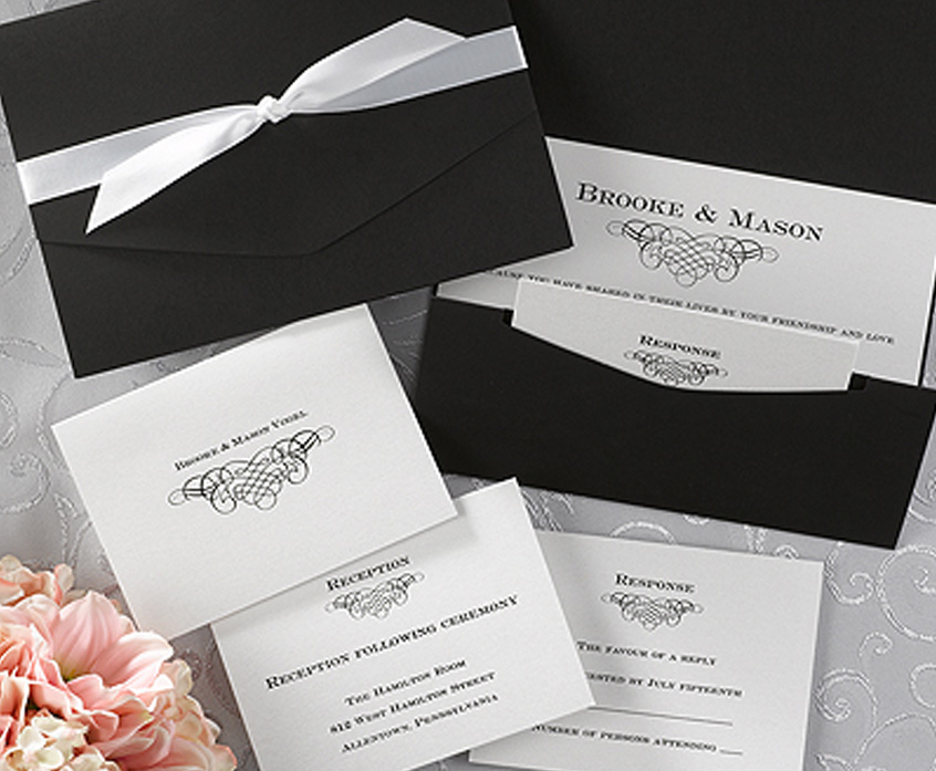 wedding invitations, stationery, party favors and custom napkins, Wedding invitations