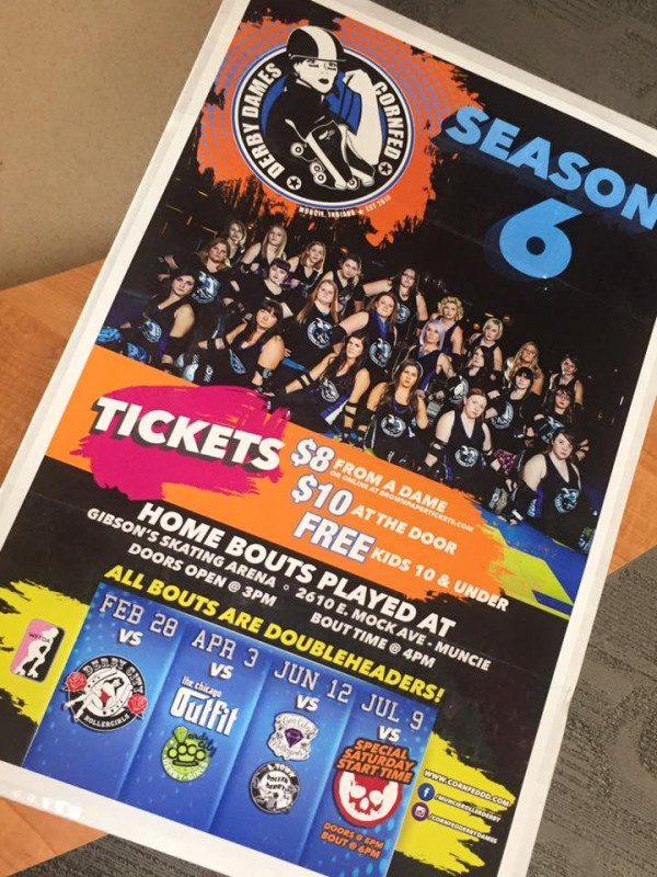 Cornfed Derby Dames Season 6 Posters & Programs
