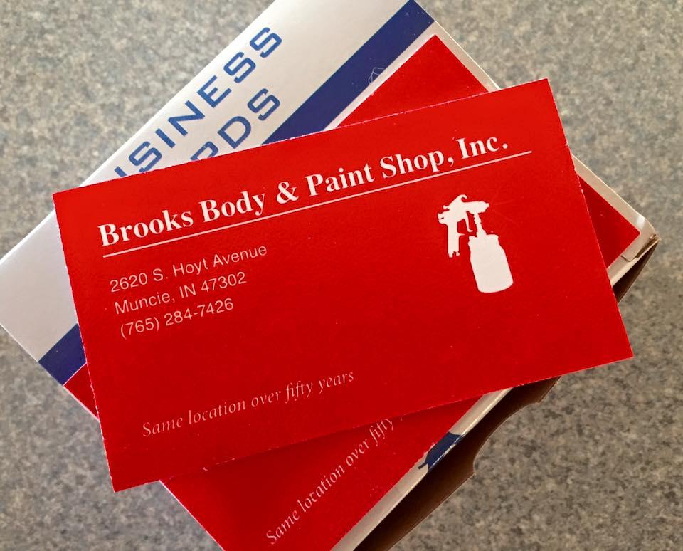 Brooks Body & Paint Shop - Farmhouse Creative