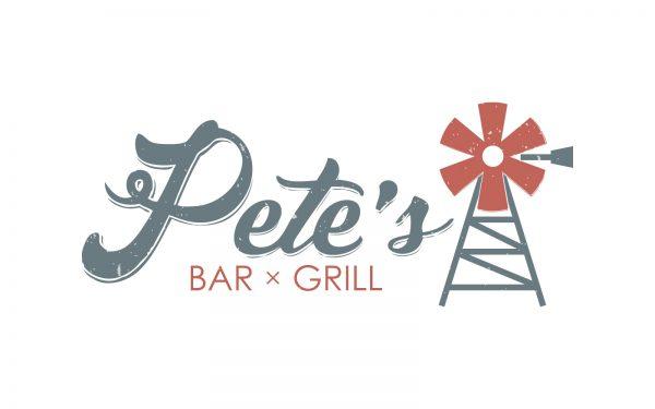 Pete's Bar x Grill Logo