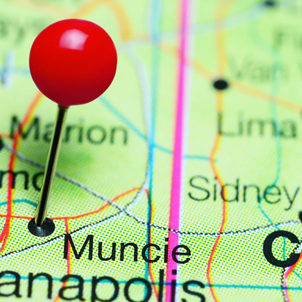 map of muncie indiana